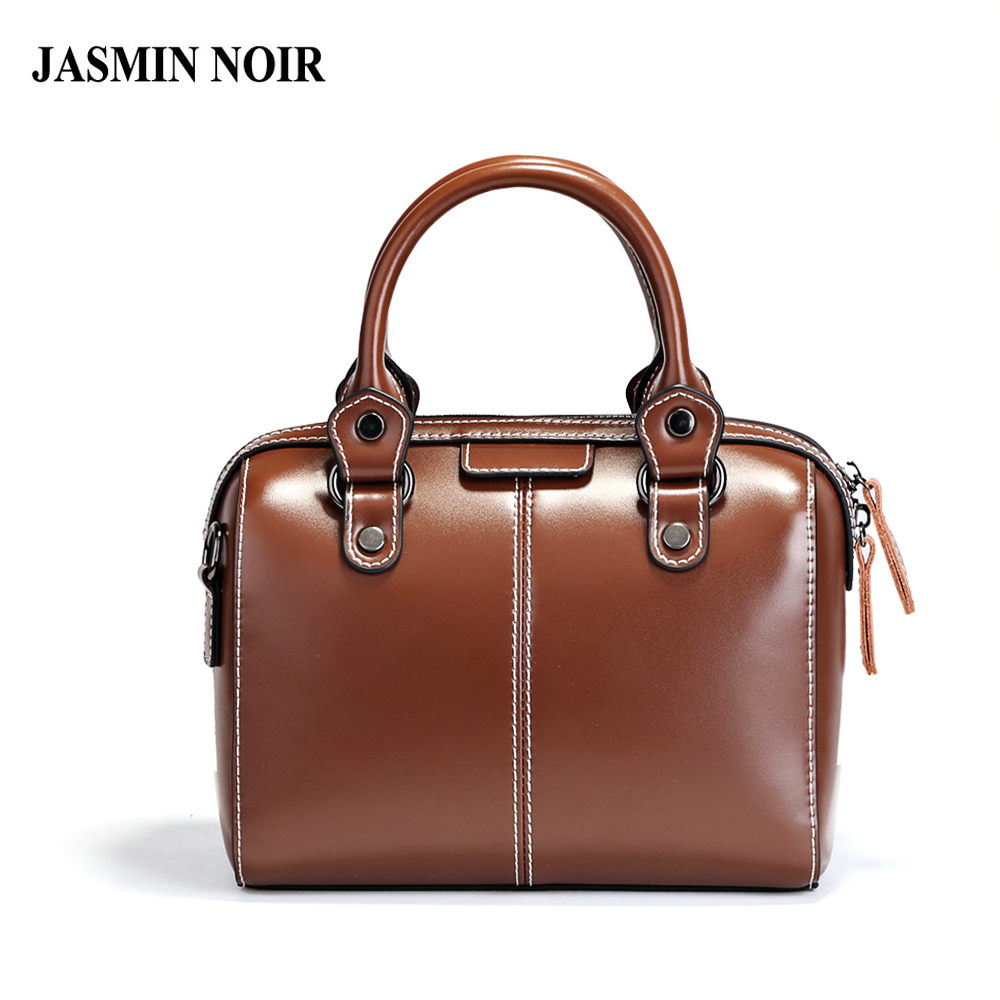Brand Cow Genuine Leather Small Women Handbag Female Designer Shoulder Totes Boston Bag Retro Vintage Crossbody Bag for Ladies nucelle brand new design vintage envelope lock cow leather women ladies handbag shoulder crossbody bag