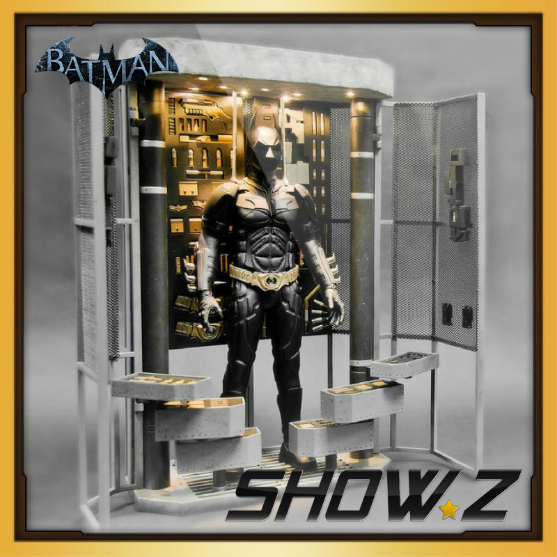 цена на Toys Legend DX12 Batman Diorama 1/6 Scale Dark Knight Armory LED Light
