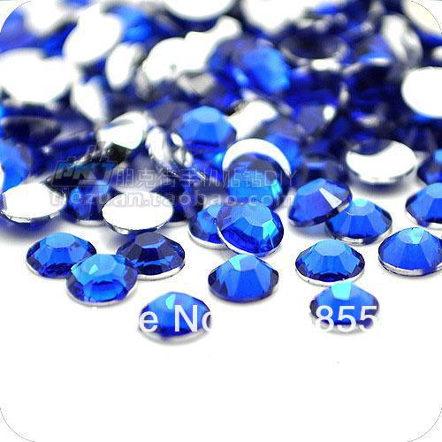 Free Shipping Pick Size Deep Blue Color Resin Flatback ,Nail Art ,DIY Wedding Decoration