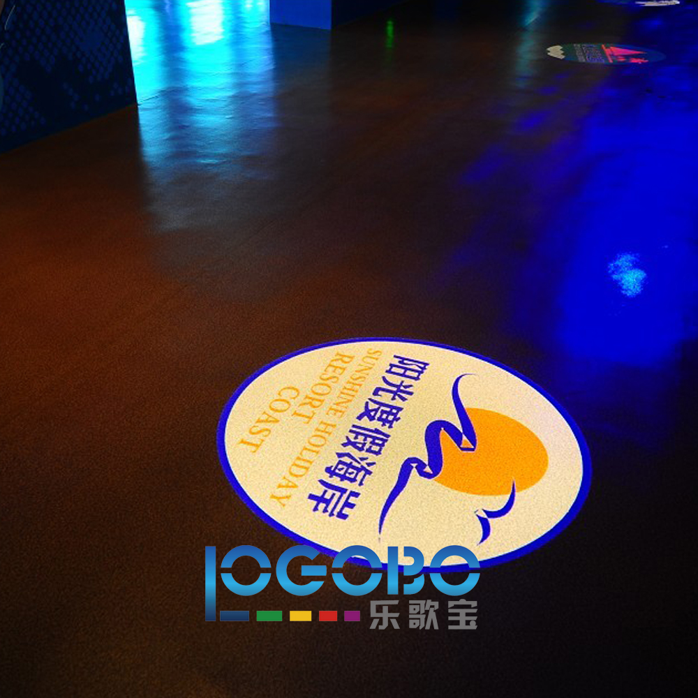 New Logo Ceiling gobo projector TE20-15