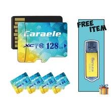 Caraele Micro SD 128GB Card TF Flash Memory Card sdxc 64GB 32GB