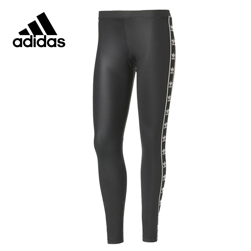 Adidas Original New Arrival Official Women's Tight Elastic Waist Full Length Pants Sportswear BJ8360 original new arrival 2017 adidas performance women s tight pants sportswear