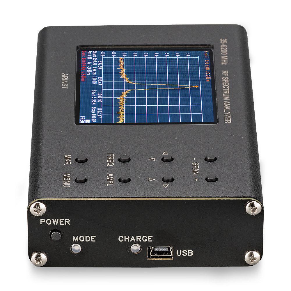 USB Virtual  oscilloscope case sweeper signal source Spectrum analyzer