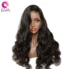"""Lace Front Human Hair Wigs For Women Brazilian Body Wave Pre Plucked Hairline With Baby Hair 8""""-26"""" Remy Hair Wig Eva Hair"""