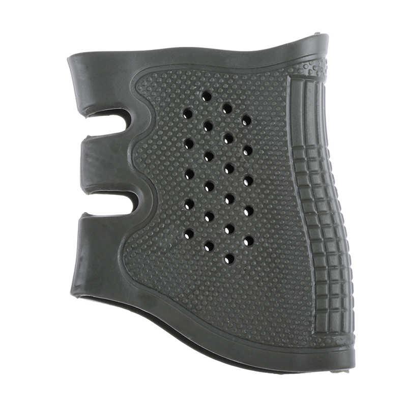 2019 neue Taktische Pistole Pistole Gummi Schützen Abdeckung Grip Handschuh Taktische Anti Slip Glock Holster Jagd Zubehör Anti Slip