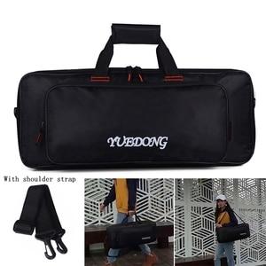 Image 2 - 60*24.5*10cm Universal Portable Guitar Effects Pedal Board Gig Shoudler Bag 20mm Sponge Thicken Soft Case Big Style Guitar Pedal