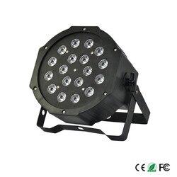 LED oświetlenie na imprezę 54 W AC110V 240V LES etap światła Dj lampa PAR z DMX512 możliwości DHL opłata za wysyłkę w Oświetlenie sceniczne od Lampy i oświetlenie na