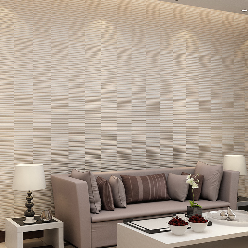 Wholesale 3d  flocking embossed modern grid wallpaper rolls for living room 3d lattice wall paper wallcovering papel de paredeWholesale 3d  flocking embossed modern grid wallpaper rolls for living room 3d lattice wall paper wallcovering papel de parede