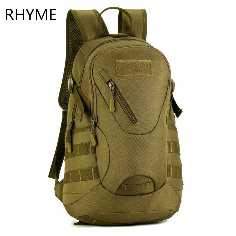 HS RHYME Waterproof 3D Military Tactics Backpack Rucksack Bag 20L for Hike Trek Camouflage Travel Backpack X67 military tactics backpack rucksack bag 35l for hike trek camera backpack waterproof nylon travel laptop bag pack 14