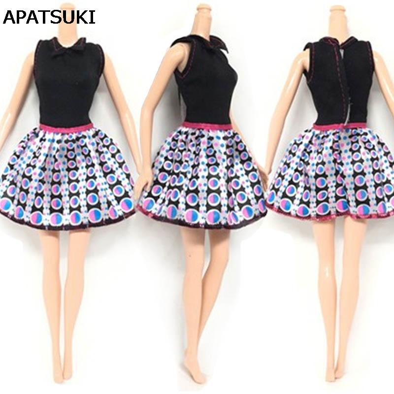 5pcs/lot Pretty Dress For Barbie Doll Clothes Fashion Outfit For 1/6 ...