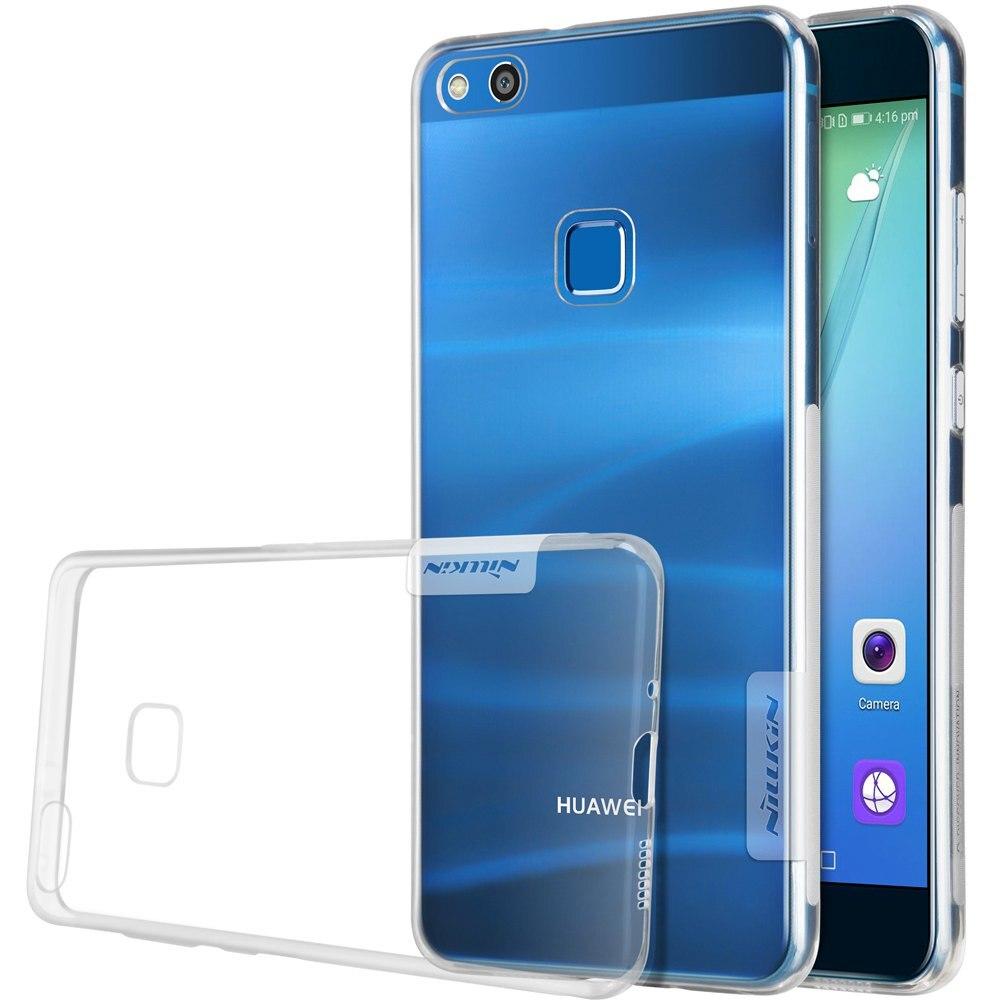 """Huawei P10 Lite custodia in silicone 5.2 """"copertura di Nillkin natura custodia in silicone TPU per huawei p10 lite con Anti skid strisce"""