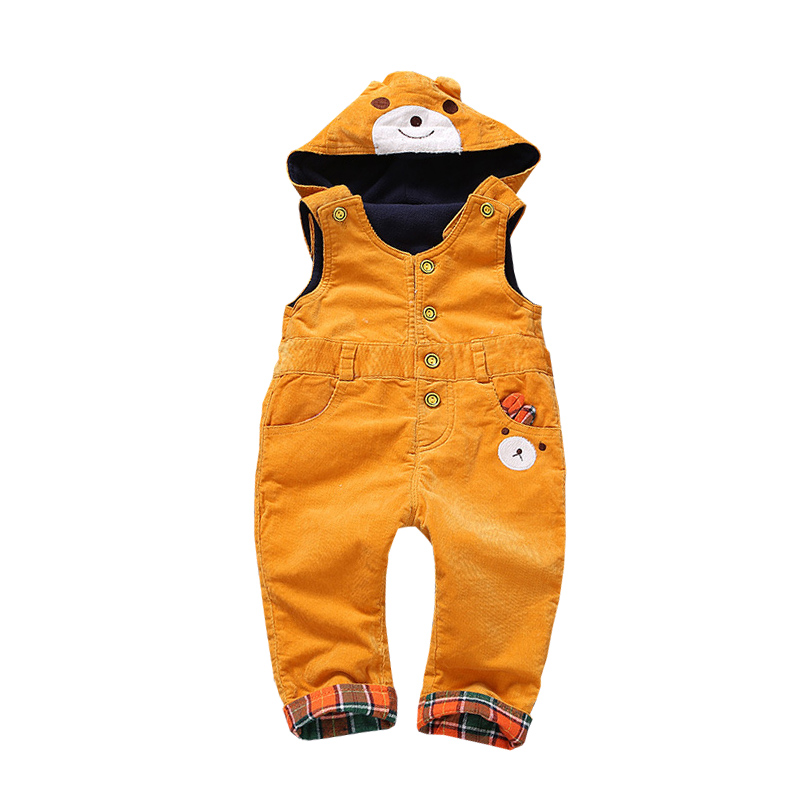 Spring Hooded Fashion Baby Boys Girls Rompers Denim Jumpsuit Sleeveless Toddler Casual Newborn Infant Clothing