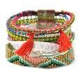 2015 multi strand wristband Bohemian bracelets Ipanema Brazilian Bracelet friendship boho Bracelet woman free shipping