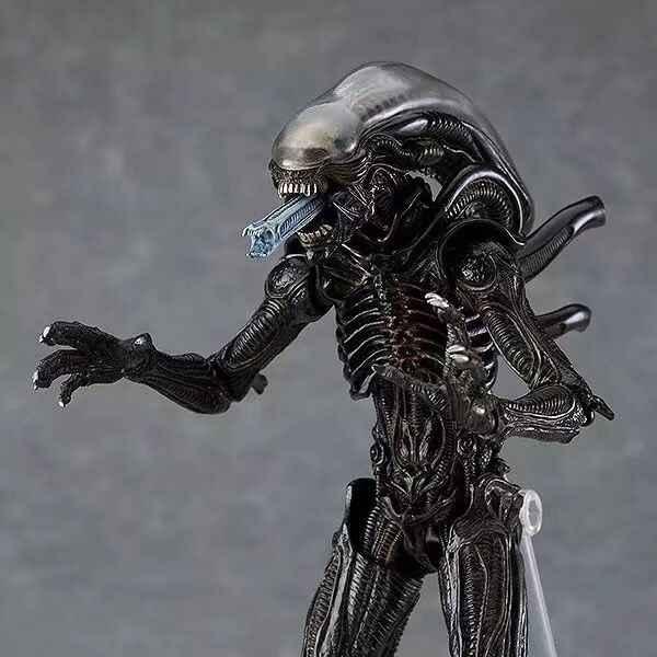 FIGMA SP-109 10th Alien Vs Predator 2 PVC Action Figure Model Mainan Boneka Hadiah