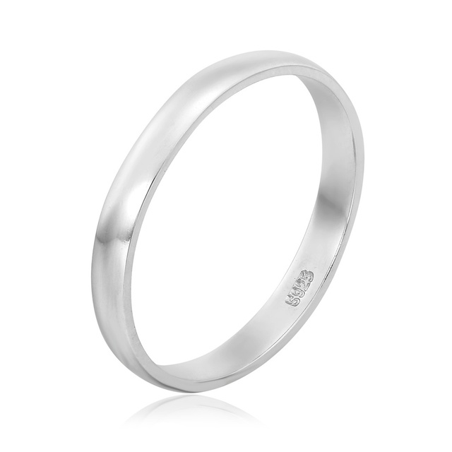 03ffa9849 925 Sterling Silver 925s Stamp D shape Band Wedding Engagement Rings for  Mens Womens Fashion Finger Jewelry Bague US size 4.5-12