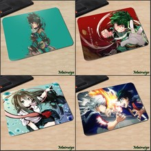 Mairuige My Hero Academia Japan Popular Anime Comic Cartoon Pattern Print Rubber Mousepad Pc Computer Gaming Table Mouse Pad