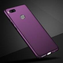 """Чехол для Xiaomi Mi A1, чехол для Xiaomi MiA1, Роскошный Матовый Жесткий чехол для телефона, чехол для Xiaomi Mi A1 A 1 5X, Противоударная задняя крышка 5,5"""""""