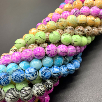 New Hot Glass Beads Fits for Handmade DIY Necklace 1