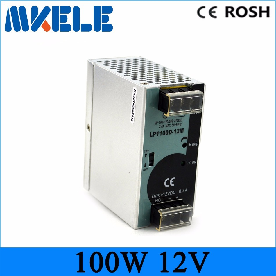 single output micro size 12v LP-100-12 8.3a 100W Din rail Single Output Switching Power Supply Ac Dc Converter SMPS with CE mdr 40 12 single output micro volume 12v ac dc 40w din rail 42w switching model power supply 12v