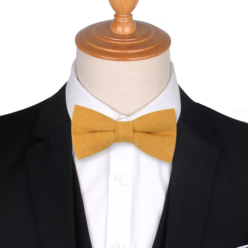 Classic Pre-Tied Bow Tie Formal Solid Tuxedo For Adults  Children By Bow Tie H