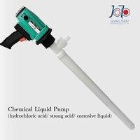 950W Electrical Chemical Liquid Pump Engineering Plastic Strong Corrosive Liquid Use Infusion Pump PRR Plastic Barrel