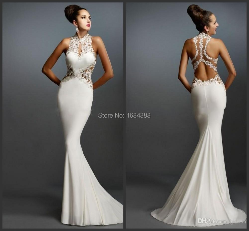 Medium Of White Formal Dresses