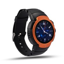 New high end smart watch SW77 with Bluetooth GPS fitness tracker sport sleep health heart rate monitor support 3G SIM WiFi APP