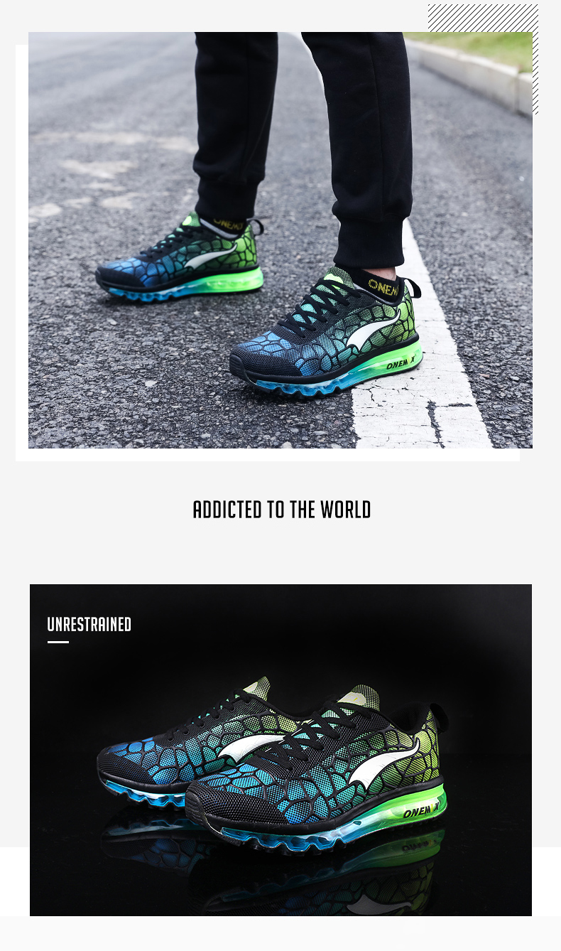 Hot onemix 17 Men Air Running Shoes Outdoor sport shoes Breathable Mesh Walking Sneakers Lightweight Breathable Athletic Shoes 6