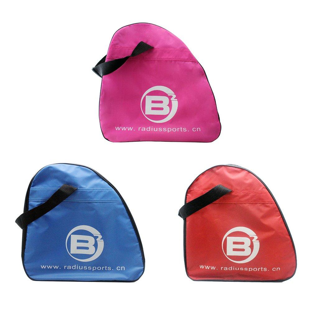 Waterproof Oxford Cloth Children Adult Skate Shoes Storage Bag Large Capacity Portable Carry Single Shoulder Bag