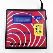 New Digital Counter Remote Master Key Programmer Frequency Meter Fixed Rolling Code Remote Copier With Blue