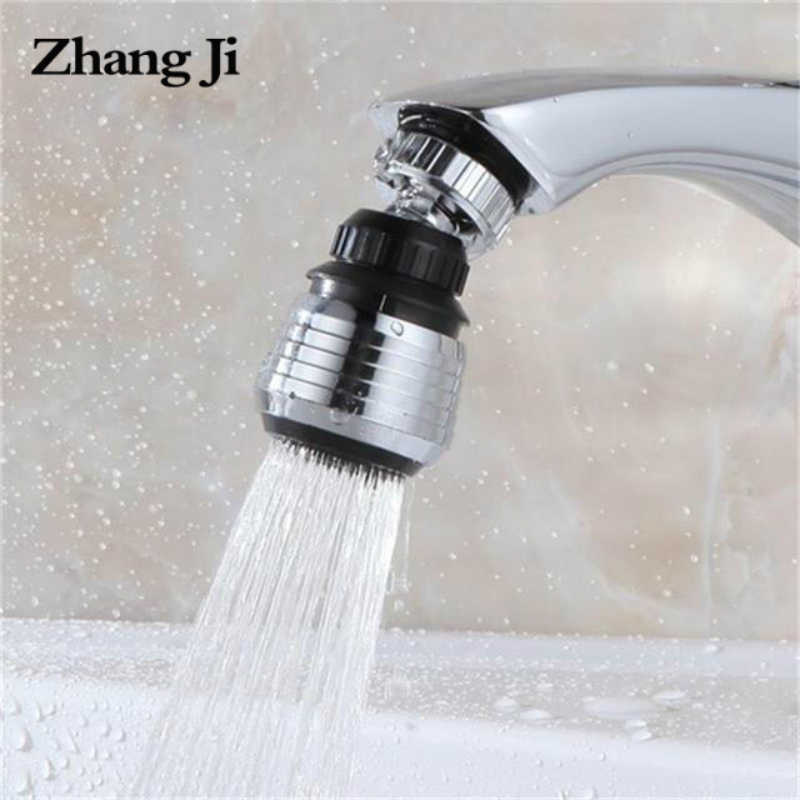 Zhangji Dapur Faucet Water Diffuser Pendingin Zinc Alloy Shell Hemat Air Filter Shower Kepala Nozzle Tap Connector