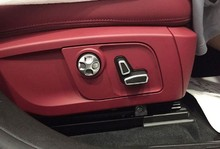 цена For Maserati Levante 2016 2017 Ghibli 2014-2017 Quattroporte 2013-2017 Accessories Car-Styling Chrome Car Seat Button Cover Trim