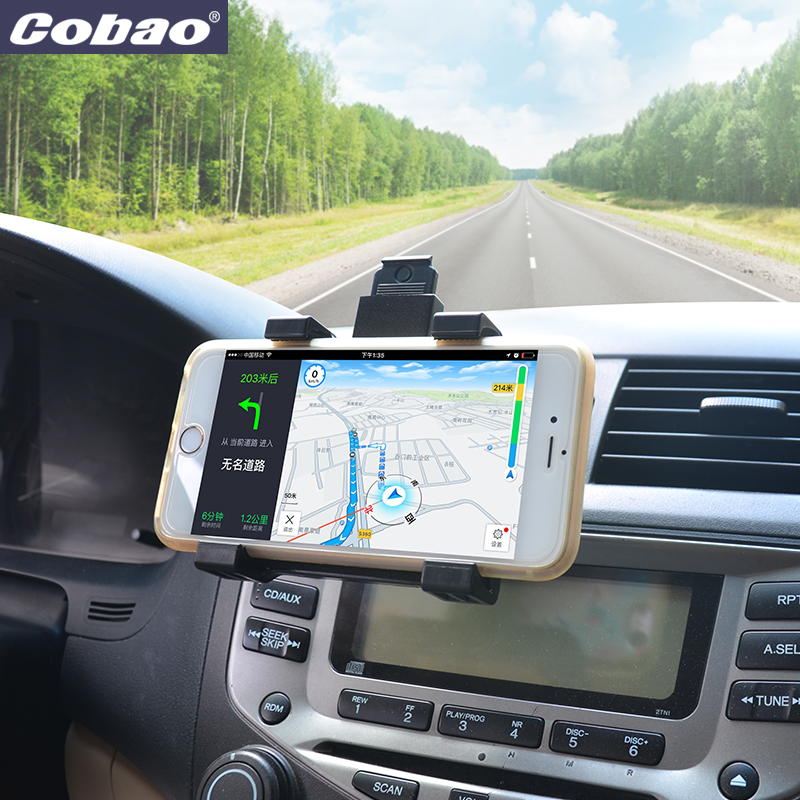 Cobao Phone Holder for Car Air Vent Mount 360 Rotating mobile Universal Stand For iphone SE 5s 6s 6 plus car accessories