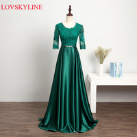 Free Shipping Hot Sell 2017 Formal Dress Long Design Spring Slim Women Evening Dress The Bride