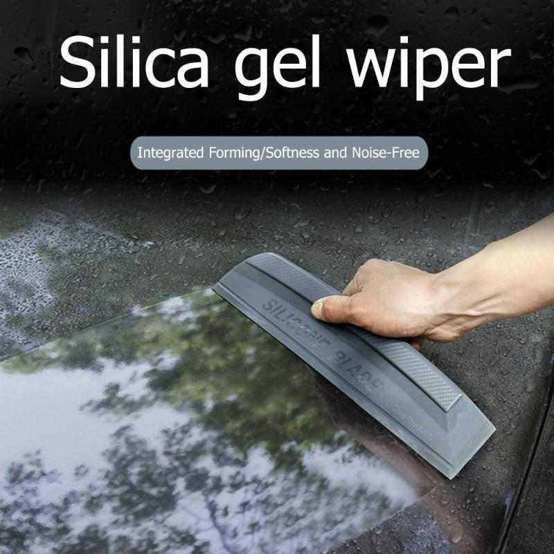 Silicone Blade Car Wash Water Wiper Soap Cleaner Scraper Auto Vehicle Windshield Window Cleaning Tool
