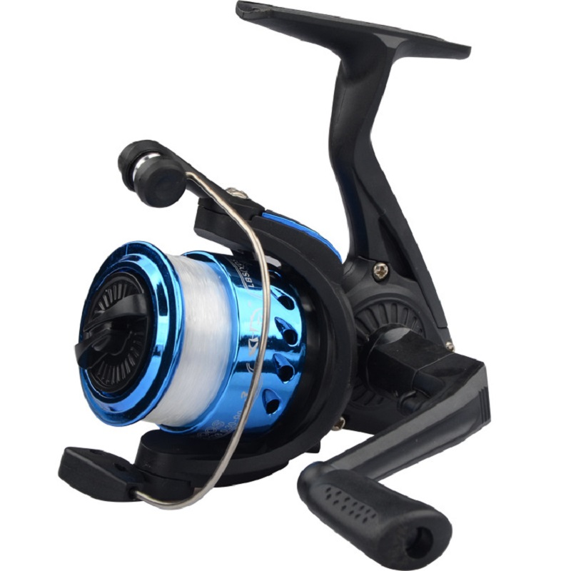 Image 2 - Fishing Wheel Spinning Reel Vessel Bait Casting Flying Fishing Trolling Spinning reels saltwater With Line Fishing Accessories-in Fishing Reels from Sports & Entertainment
