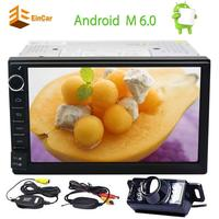 Android 6 0 Quad Core Car Stereo 7 GPS Navigation 2 Din Car Radio Multimedia Player