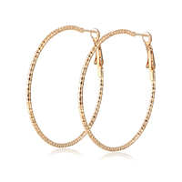2017 New Arrival Fashion Circle Big Hoop Earrings for Women Silver/Gold-Color Classic Jewelry Bijoux Cute Gifts