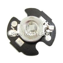 20pcs/lot 3W 45mil Chip UV Ultraviolet 395nm LED Bead Light  Emitter With 16mm Round Heatsink