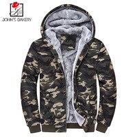 John S Bakery 2017 Hoodies Brand Men Camouflage Thicker Sweatshirt Malemen S Sportswear Hoody Hip Hop