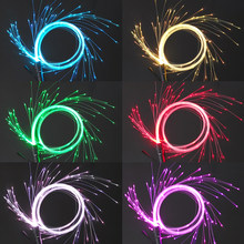 3W Fiber Optic Dance Whip Party Super Bright Fiber Optical Light 49 Colors Effect for Lights Shows EDM Music Festival Decoration(China)