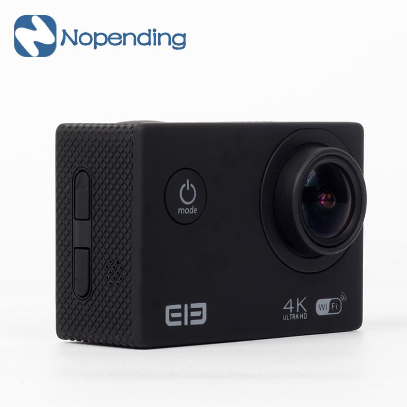 Prix pour ELEPHONE ELE CAM Étanche Action Sports Caméra Elecam Exployer WIFI Aliwinner V3 2.0 Pouce TFT 4 K 15FPS 170 Objectif Grand Angle Cam