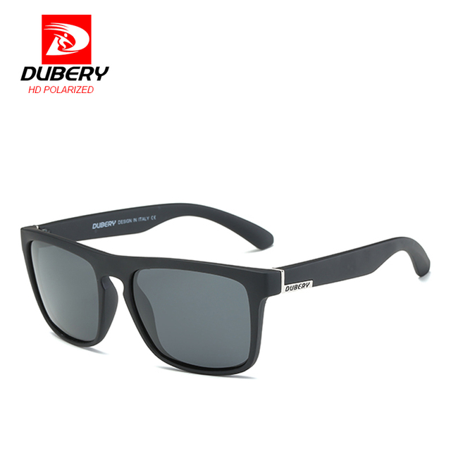 DUBERY Polarized Sunglasses Men's Aviation Driving Shades Male Sun Glasses For Men Retro Cheap 2017 Luxury Brand Designer Oculos