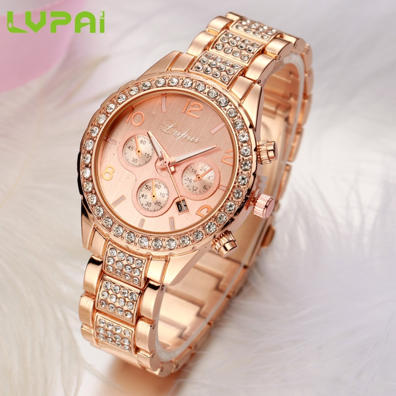 Excellent Quality Lvpai Women Bracelet Watch Women Fashion Alloy Wrist Watches Women Dress Watches Gift Quartz Watch Mar 10