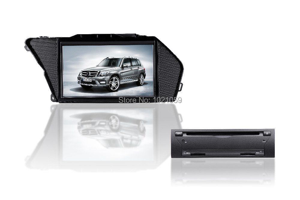 Free shipping special car dvd gps player for Benz GLK class X204(2008 2012) GLK300;GLK350