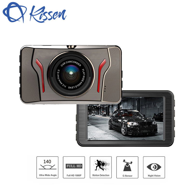 Kissen Full HD 1080P Car DVR 3.0 Inch IPS Screen Car Camera Dash Cam Video Recorder Night Vision G-sensor Registrator Parking