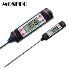 MOSEKO Digital Meat Thermometer Cooking Food Kitchen BBQ Probe Water Milk Oil Liquid Oven Thermometer Digital TP101