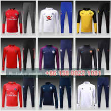 Realed Madrided 2018 Best Quality Reals Sports Survetement Football 15 17 Tracksuit Maillot De Foot Training Suit Soccer Jersey(China)