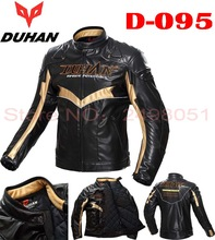 2016 New Autumn winter warm DUHAN motocross motorcycle jacket D-095 cross-country motorbike jackets made of PU and 80% nylon