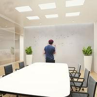 100cm x 500cm (40x196) White Dry Erase Board Writing Film Single Side Adhesive Window Glass Home/Office/School Graffiti Use